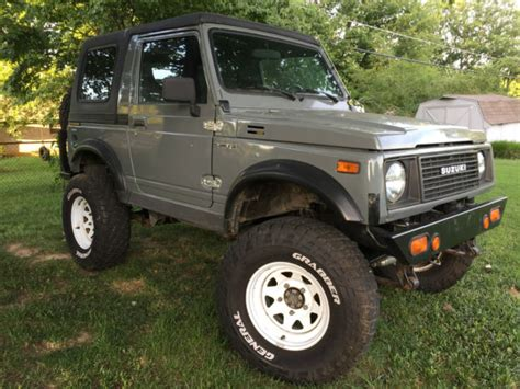 Suzuki Samurai Diesel For Sale by 1986 Suzuki Samurai Volkswagen Turbo Diesel For Sale