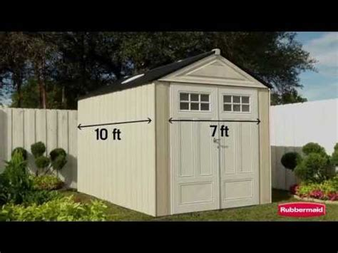 rubbermaid roughneck shed assembly instructions how to