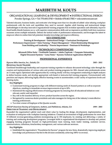 corporate trainer resume format 17 best images about resume ideas and tips on layout cv project manager resume and