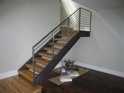 Steel Banister by Stallion Metal Works