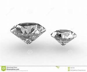 Pair Of Beautiful Zirconium Gemstones Royalty Free Stock