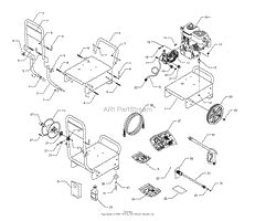 briggs and stratton power products 1673 0 580 767700 2 700 psi craftsman parts diagram for