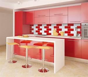 ophreycom cuisine rouge et blanc prelevement d With faience cuisine rouge et blanc