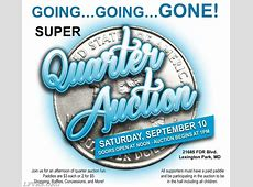 SUPER Quarter Auction September 10, 2016 Lexington