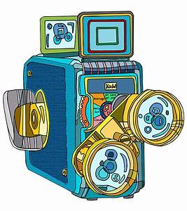 Video Camera Illustrations for Gate Worldwide