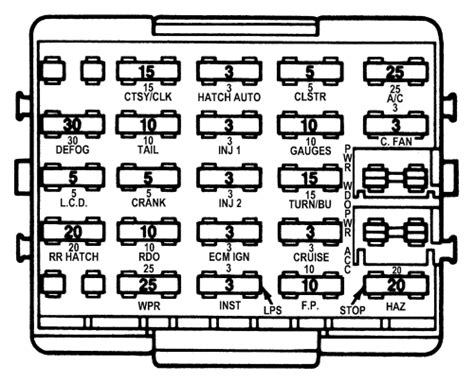 1985 Corvette Fuse Box Diagram by 1981 Power Seat Not Working Page1 Corvette Forums At