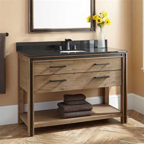 alder wood cabinet doors 33 stunning rustic bathroom vanity ideas remodeling expense