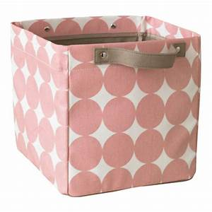 Aufbewahrungsboxen Fürs Bad : aufbewahrungsbox klein 39 dots petal 39 in rosa von dwellstudio kaufen ~ Sanjose-hotels-ca.com Haus und Dekorationen