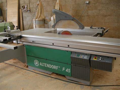 altendorf  woodworking machinery services
