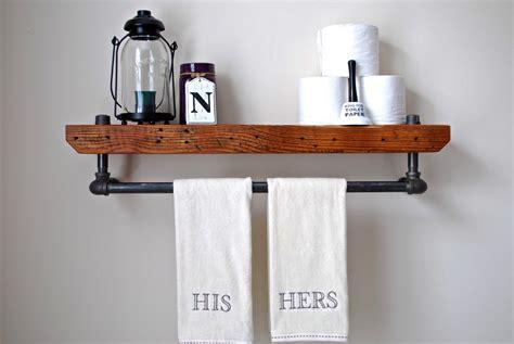 badezimmer regal holz 20 savvy handmade industrial decor ideas you can diy for