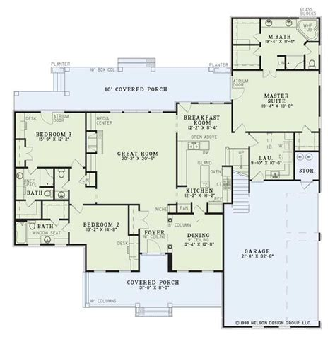 southern style floor plans country style house plans 2755 square home 2