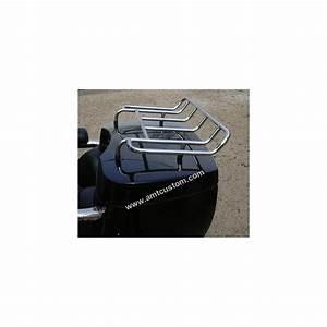 Grille Porte Bagages Chrome Coffre Trike Et Top Case AMT