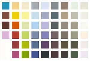 Peinture Murale Couleur : nuancier de couleur ~ Melissatoandfro.com Idées de Décoration