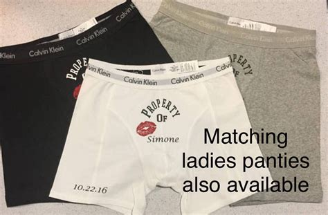 Personalized Boxers Boyfriend Gift Valentines Gift For Him