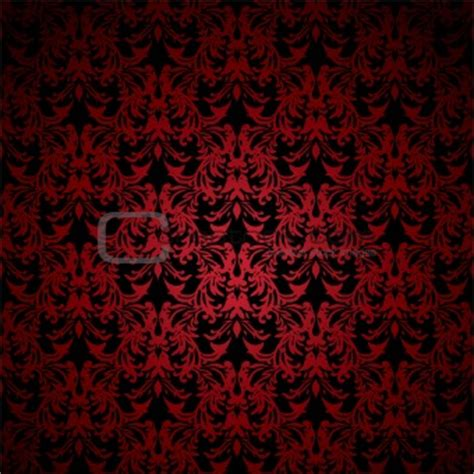 red  black damask wallpaper gallery