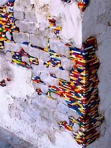 Löcher Wand Füllen : upcycling ideen lego wand ~ Sanjose-hotels-ca.com Haus und Dekorationen