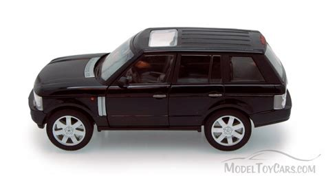 toy range rover 2003 land rover range rover suv black welly 22415 1