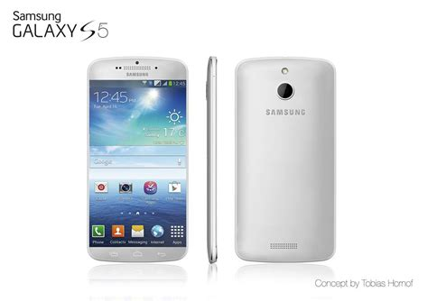 galaxy 5 phone samsung galaxy s5 rendered by tobias hornof compared to