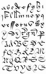 7 Gothic Cursive Font Images - Gothic Font Alphabet ...