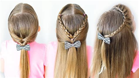easy toddler hairstyles  minute hairstyles youtube
