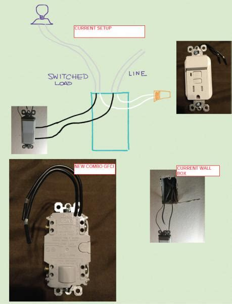gfci wiring diagram with switch 31 wiring diagram images