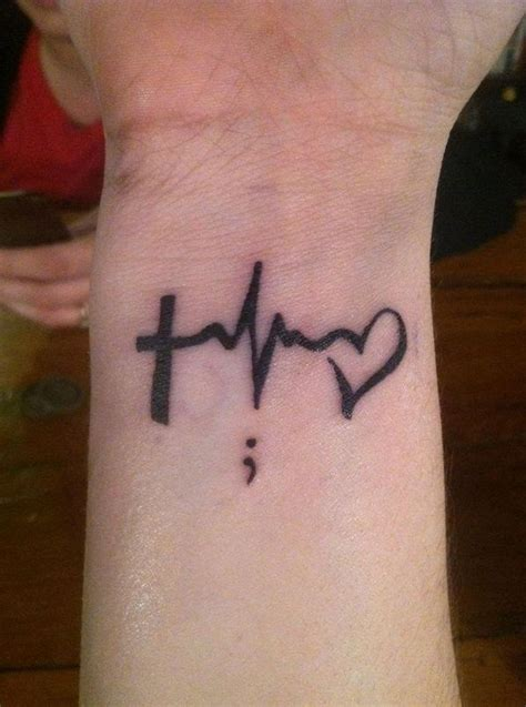 heartbeat wrist tattoo designs ideas  meaning