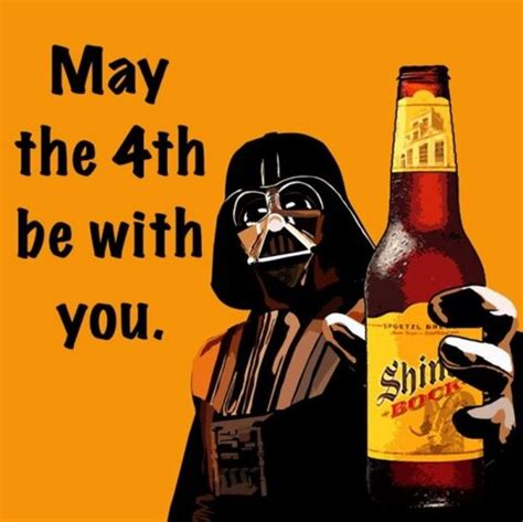May the 4th be with you. #Shiner | Ska, Cerveza, Ficcion