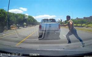 Epic road rage: Dashcam footage shows angry driver cut up ...