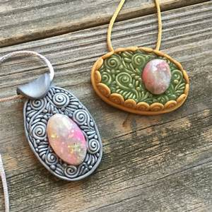 Faux Polymer Clay Opals - My Way