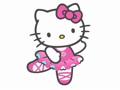 Kitty Hello Clipart Animation Dancing Kawaii Editions