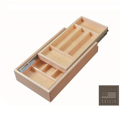 tile niches shower century components dtier11pf ff silverware drawer