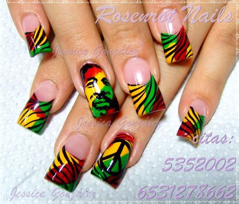 25 Best Ideas About Rasta Nails On Pinterest Bob Marley