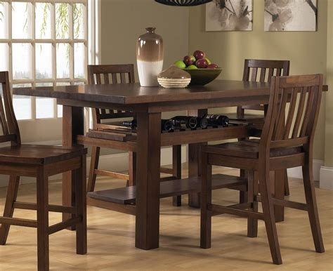 7 Piece Counter Height Dining Set ? Loccie Better Homes