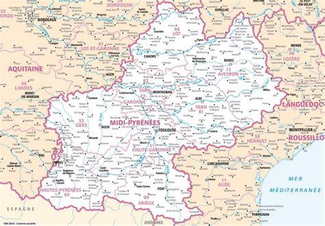 carte region midi pyr 233 n 233 es plans et cartes de la r 233 gion midi pyr 233 n 233 es
