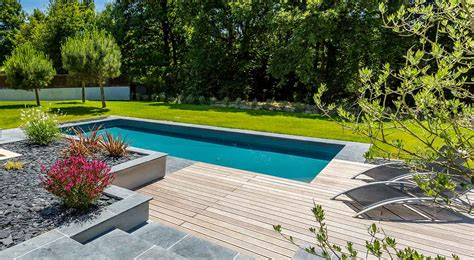 piscine et amenagement exterieur nos r 233 alisations de jardin et am 233 nagement d ext 233 rieur en vend 233 e