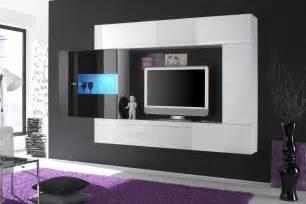 design lowboards exklusive wohnwand schwarz weiß riess ambiente de