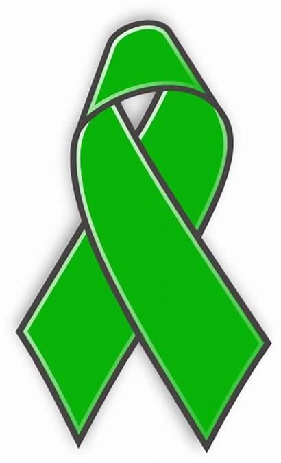 Ribbon Health Awareness Mental Clip Clipart Cliparts