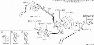 Nissan Quest Brake Hydraulic Hose  Rear   Piping