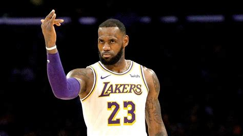 lebron james takes control   lakers