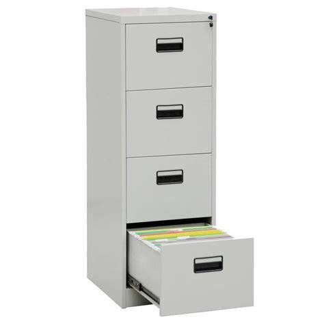 4 Drawer Metal File Cabinet With Lock Roselawnlutheran