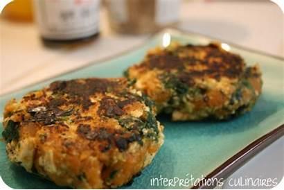 Potato Sweet Patties Spinach Tofu