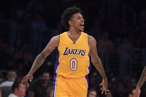 nick young   lakers      agency