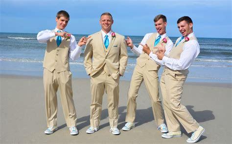 Groom Beach Wedding Attire In St Augustine Beach