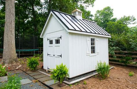 White Diy Shed by Garden Shed Inspiration And Attractive Design Ideas