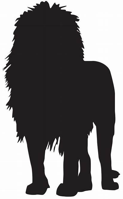 Lion Silhouette Transparent Clip Clipart Graphics Silhouettes