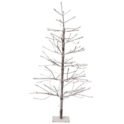 martha stewart christmas tree lights not working martha stewart living 4 ft pre lit led snowy brown