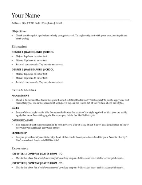 How To List Self Employment On Resume by Mcdonalds Shift Manager Functional Resume Sle
