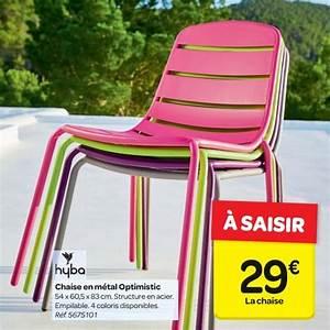 Chaise De Jardin Carrefour : chaise longue de jardin chez carrefour veranda ~ Farleysfitness.com Idées de Décoration