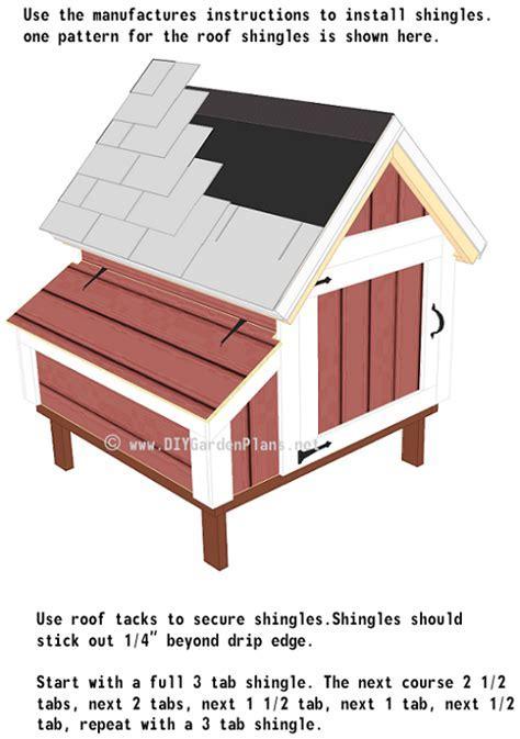 Chicken Coop Plans: Shingles