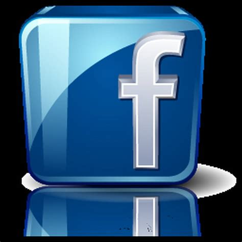 3D looking FaceBook logo - Facebook Picture